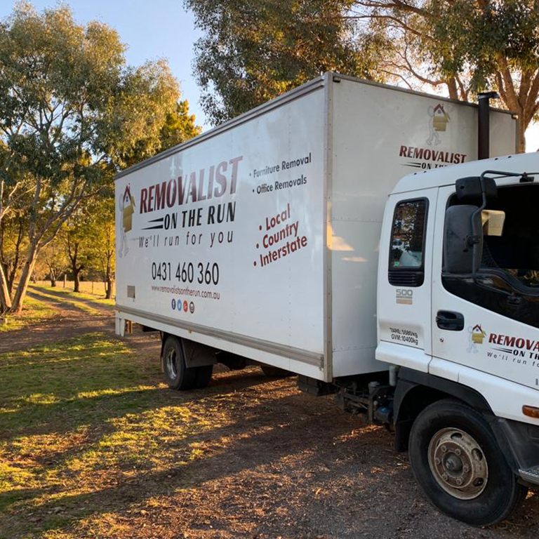 Removalist on the run